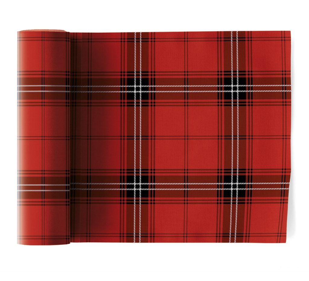 serviettes de table en tissu christmas tartan christmas 12u my drap. Black Bedroom Furniture Sets. Home Design Ideas